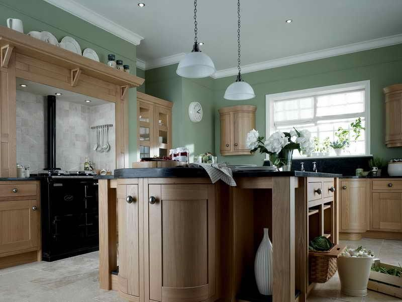 Amazing kitchen paint colors with oak cabinets idea Kitchen colors with natural wood cabinets