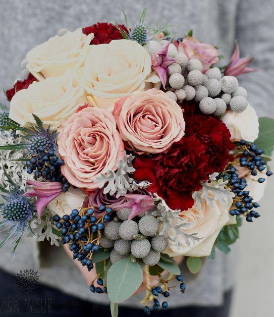 Zimowy Slub Pastele Bordo I Zloto Ma Fleur Blog O Kwiatach Wedding Bouquets Winter Wedding Floral