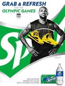 best website 4efb6 f1dc7 Sprite endorsement during 2012 Summer Olympics