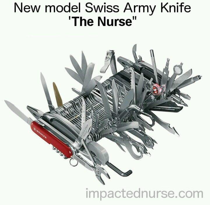 """Swiss Army Knife """"The Nurse"""" #Nursing"""