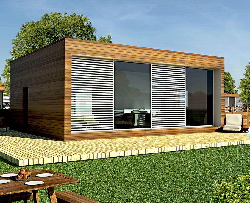 Minimalismo e design puro la casa in bioedilizia modello for Casa bioedilizia o tradizionale