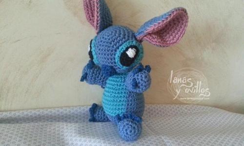Free Amigurumi Disney Patterns : Stitch de la película de disney lilo stich amigurumi patrón