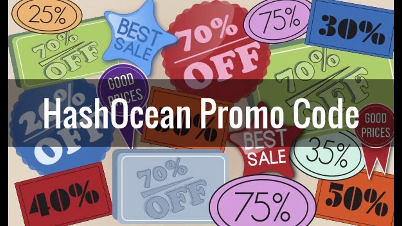 Hashocean promo code 15 off first buy order