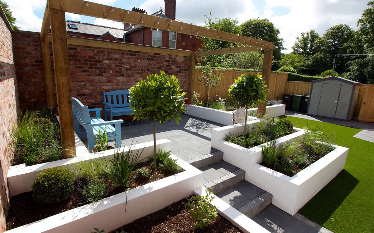 Contemporary Garden Lisburn Johnny Knox Garden Design Belfast Northern Ireland Patio Garden Design Contemporary Garden Rooms Contemporary Garden Design