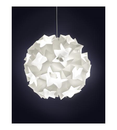 APERTURE Suspensions Blanc Bois Papier Lighting