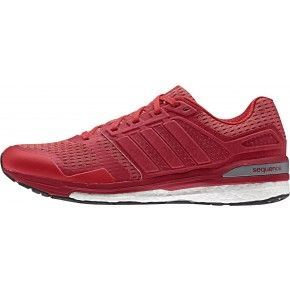adidas Supernova Sequence 8 Boost Mens Running Shoes  Red   Start Fitness
