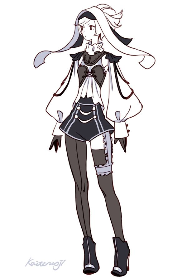 ブログのらくがきまとめ 5 Character Design キャラクターデザイン