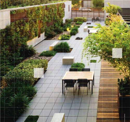 Commercial Walls Landscape Design
