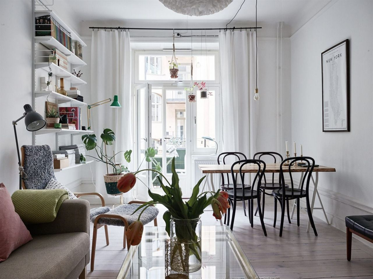 Small Space  The Scandinavian Way  Copparstad Interior Styling Brilliant Living Room Design For Small Spaces Inspiration
