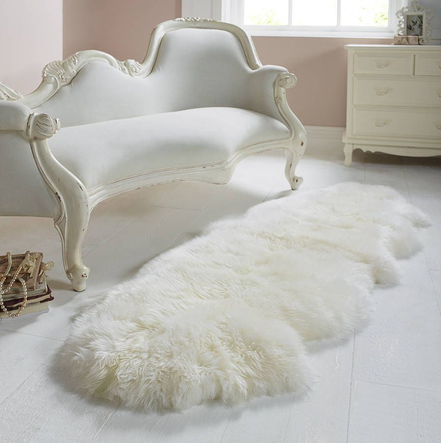 Luxury Sheepskin Rug White Sheepskin Rug