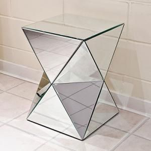 contemporary mirrored furniture. A Stunning Collection Of Mirrored Furniture Perfect For The Contemporary And Vintage Style Home Glass Pedestal