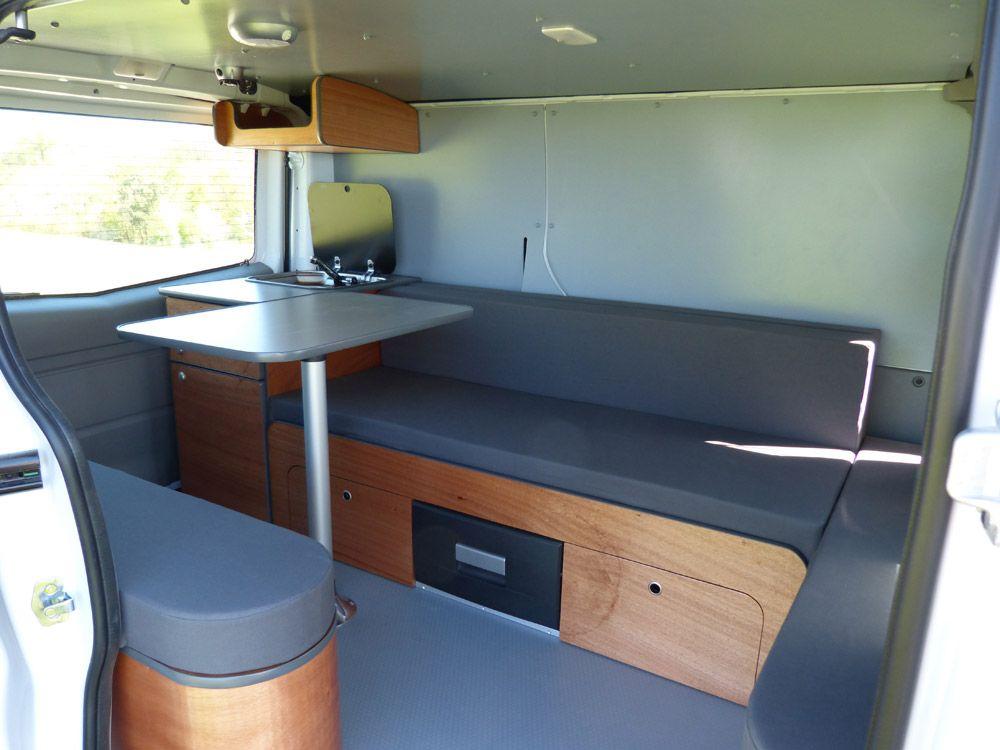 l am nagement north est tr s convivial avec son grand espace de vie van mania am nagement de. Black Bedroom Furniture Sets. Home Design Ideas