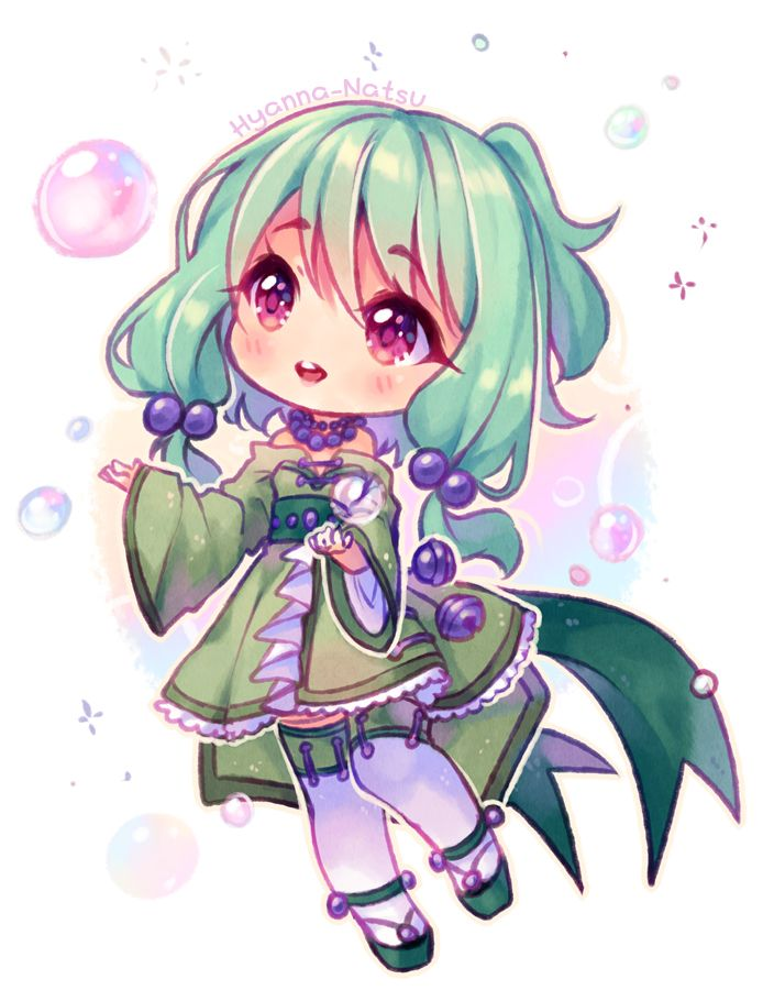 Commission green tea by hyanna natsu anime in 2018 pinterest dessin kawaii dessin manga - Personnage manga fille ...