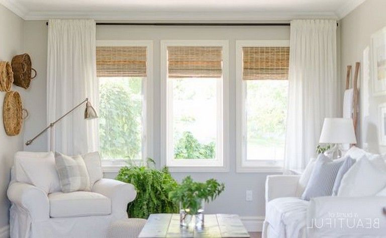 45 Comfy Modern Farmhouse Living Room Curtains Ideas Page 16 Of 47 Farm House Living Room Curtains Living Room Window Curtains Living Room