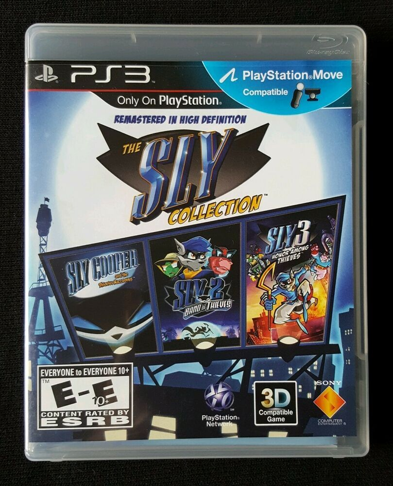 THE SLY COLLECTION (3 full games) PS3 Playstation 3 TESTED