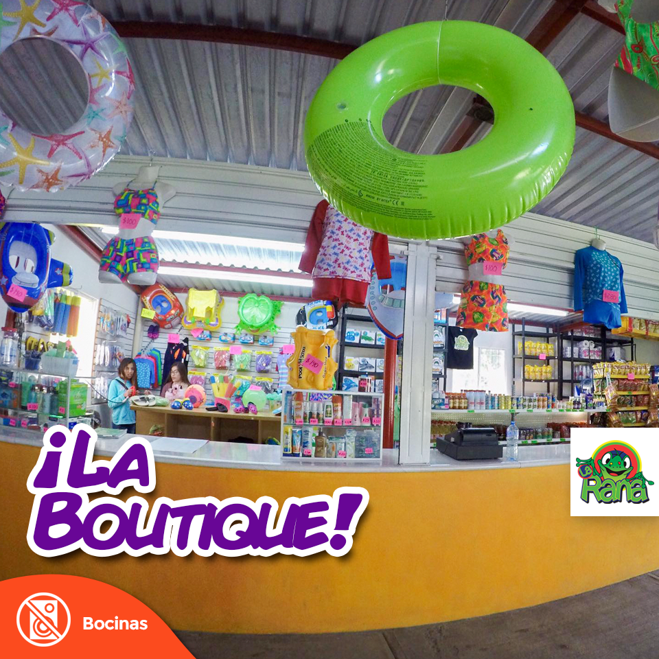 """Parque acuático La Rana """"La Boutique"""""""