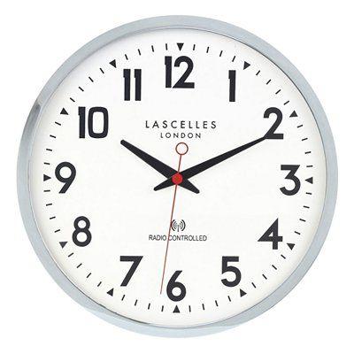 Roger Lascelles Radio Controlled Wall Clock Clock Wall Clock Radio Control