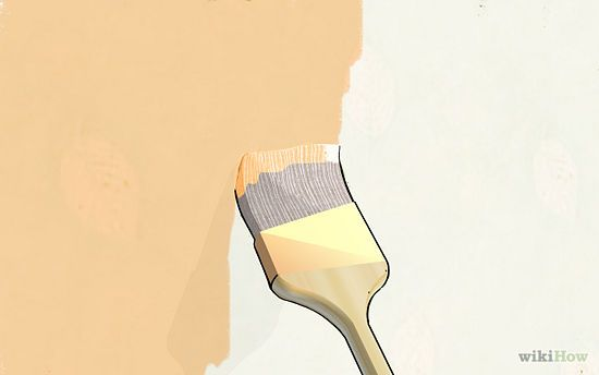 How To Paint Over Wallpaper Painting Over Wallpaper Wallpaper Over Wallpaper Home Diy