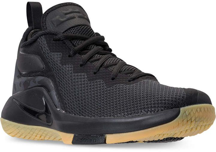 2861915ebfdc Nike Men s LeBron Witness Ii Basketball Sneakers from Finish Line ...