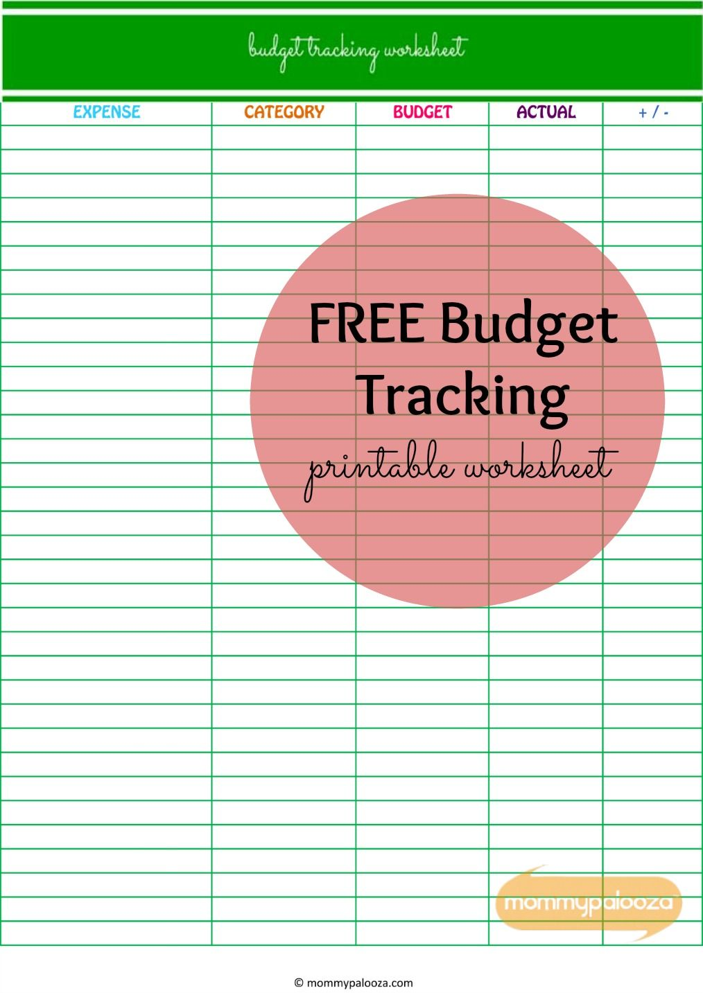 Worksheets Get Out Of Debt Budget Worksheet how payoff can help you get out of debt and free printable budget tracking worksheet payoffmindset