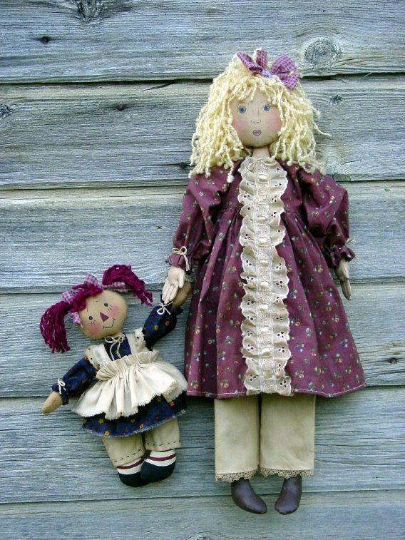 CF201 Emma Dolly  patron de poupée de chiffon par CatAndTheFiddle