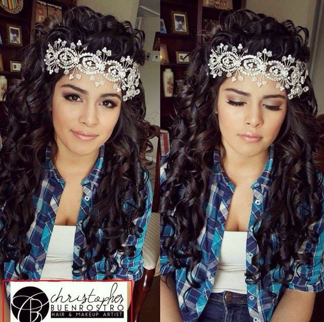 Quince Hairstyles glambychristopher quince hairstylesteen Christopherbuenrostro Buenrostrochristopher Glambychristopher Glambychristopher Quinceanerahairstyles Hairstyles Hair Quincehair