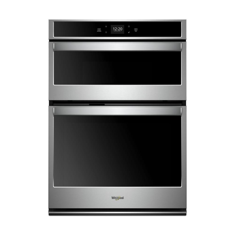 Whirlpool 27 In Electric Smart Wall Oven With Built In Microwave