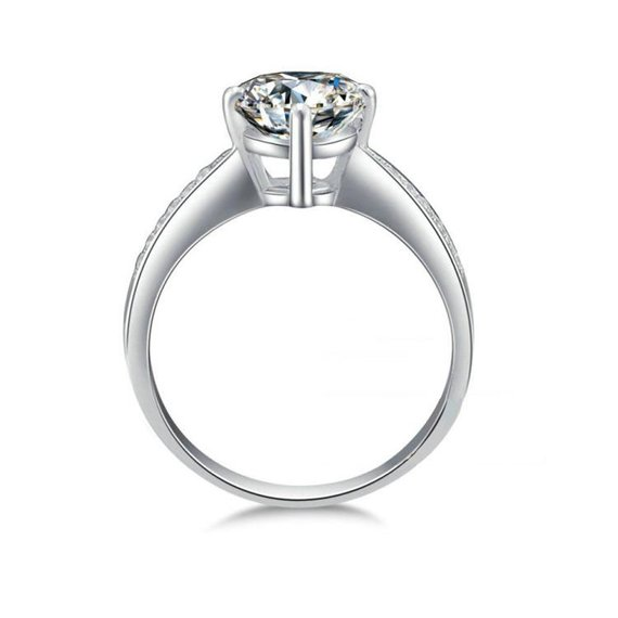 e6f5bc34d493a Metal Material: 14k White Gold (solid) - Average Weight: 1.28gm ...
