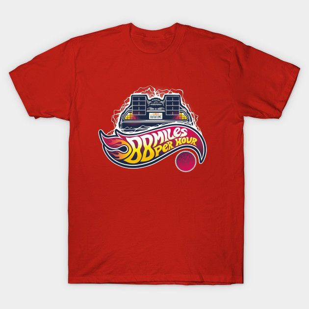 Hot Wheels To The Future - Mens T-Shirt