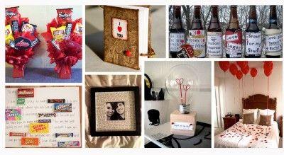 Regalos Creativos Para El 14 De Febrero Para Mi Novio Regalos De San Valentín Caseros Bricolaje Del Día De San Valentín Regalos Para Hombres