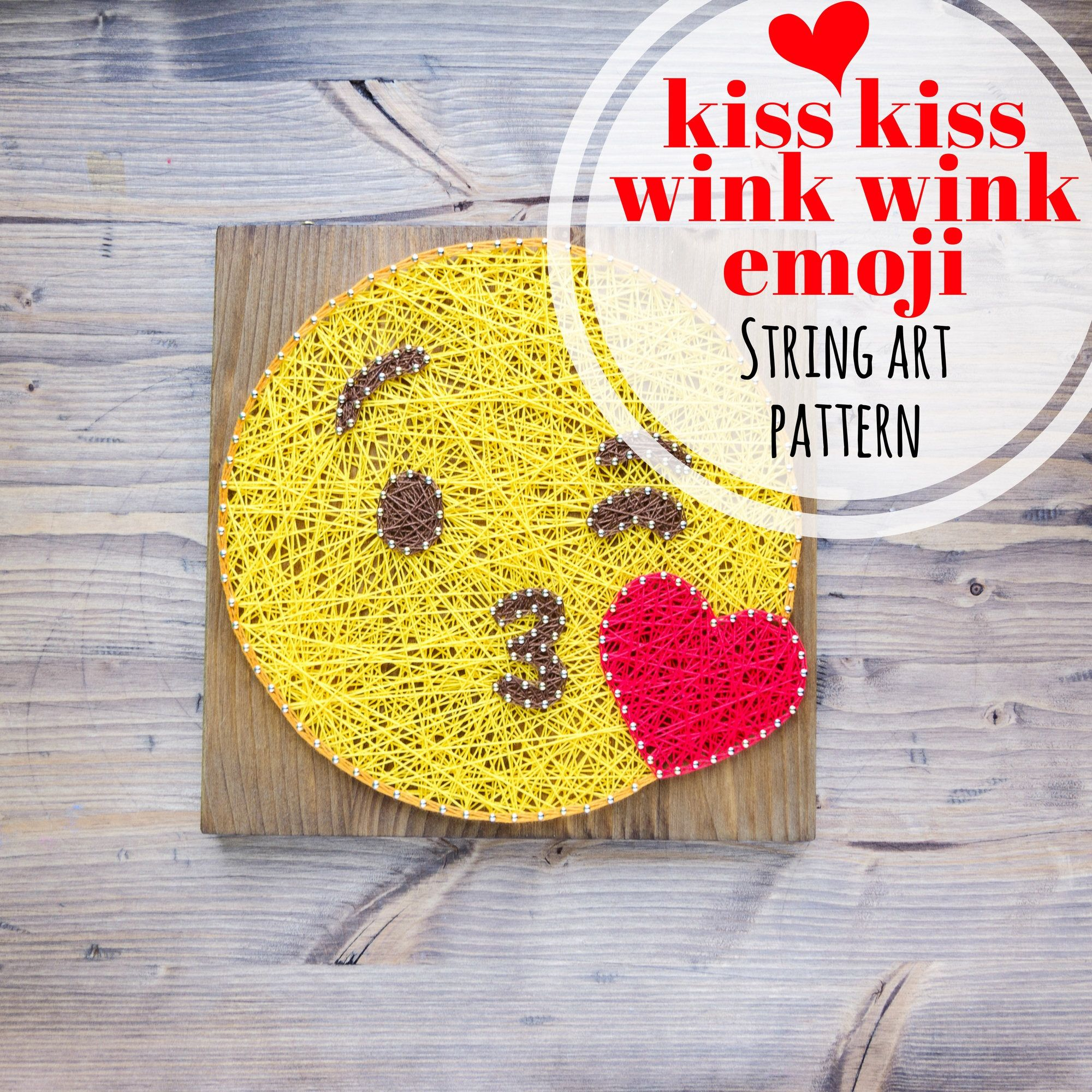 Valentine\'s Day DIY string art craft project | Craft Ideas ...