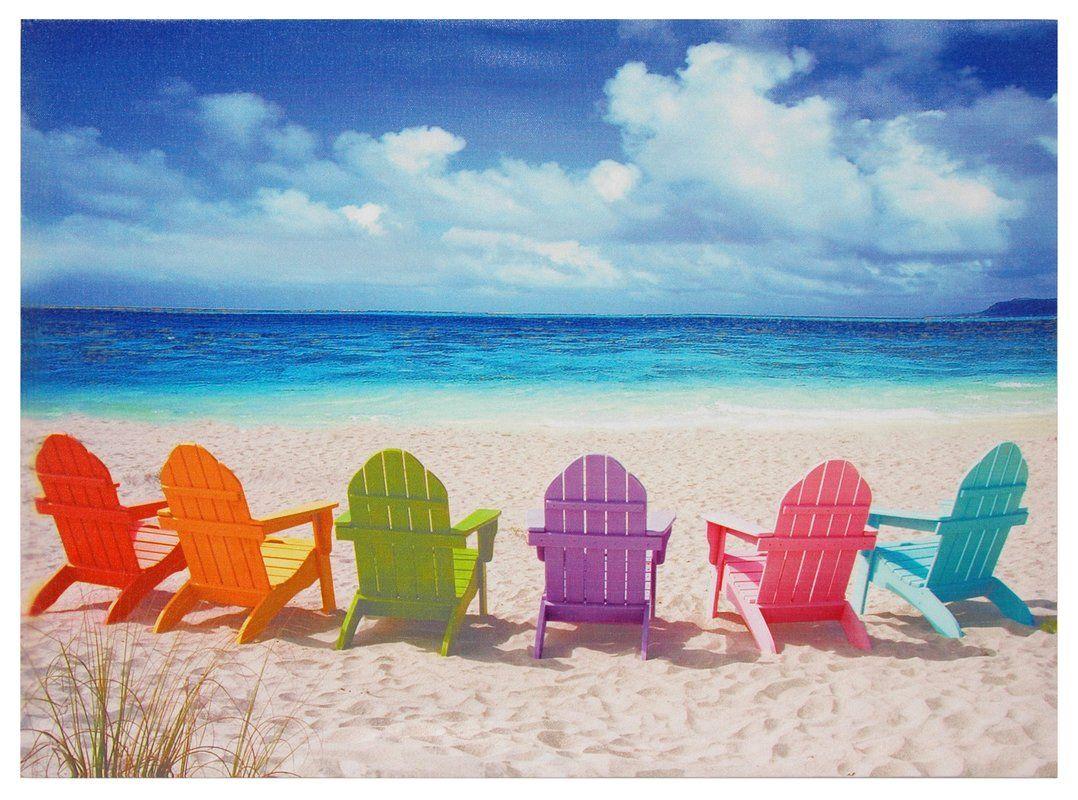 Peekskill Beach Chairs Photographic Print Reviews Joss Main  # Muebles Peekskill