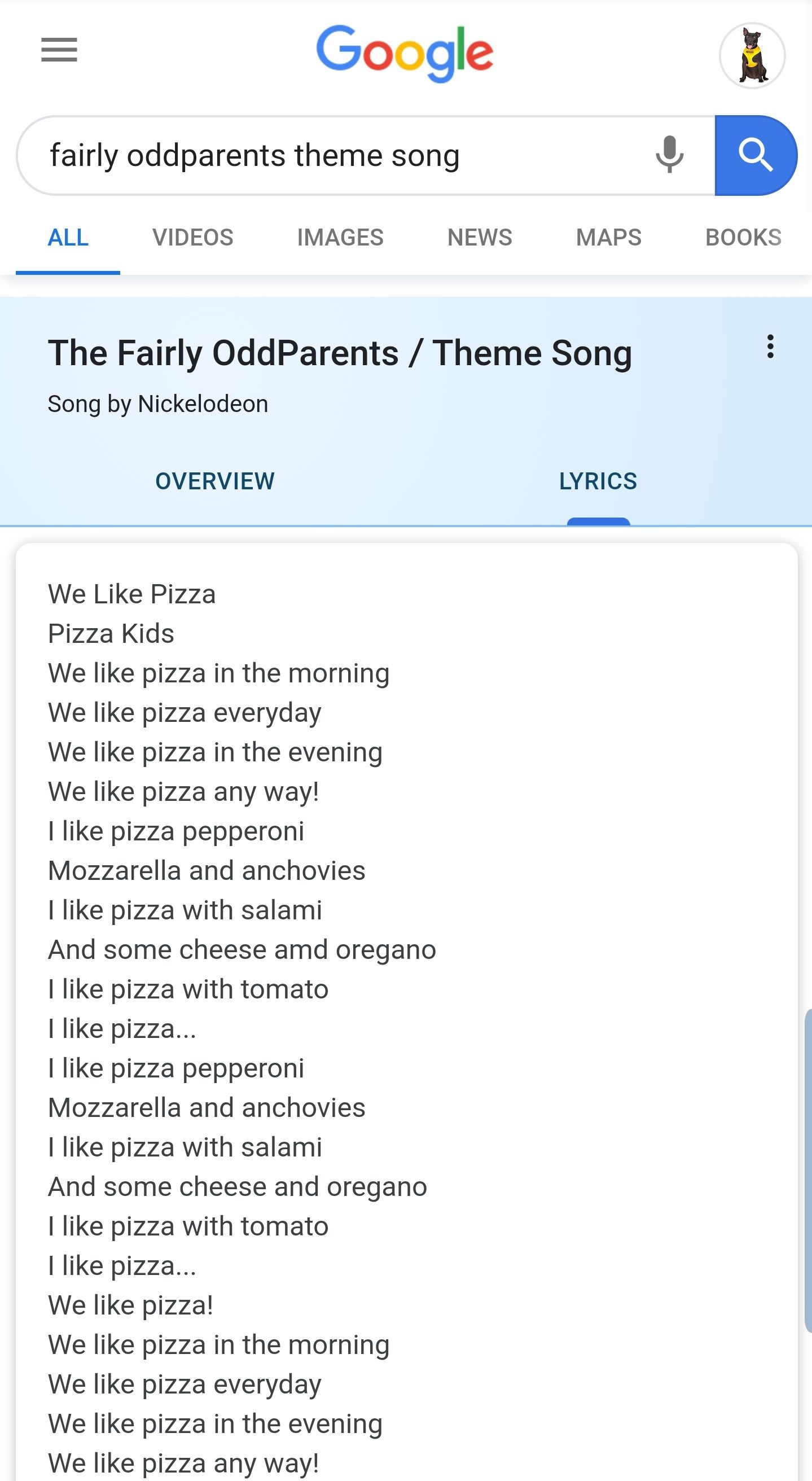 Nickelodeon Song Lyrics : nickelodeon, lyrics, Sounds, About, Right!, Fairly, Oddparents,, Songs,, Theme