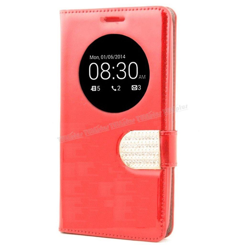 Asus Zenfone 5 Taşlı Pencereli Kılıf Kırmızı -  - Price : TL28.90. Buy now at http://www.teleplus.com.tr/index.php/asus-zenfone-5-tasli-pencereli-kilif-kirmizi.html