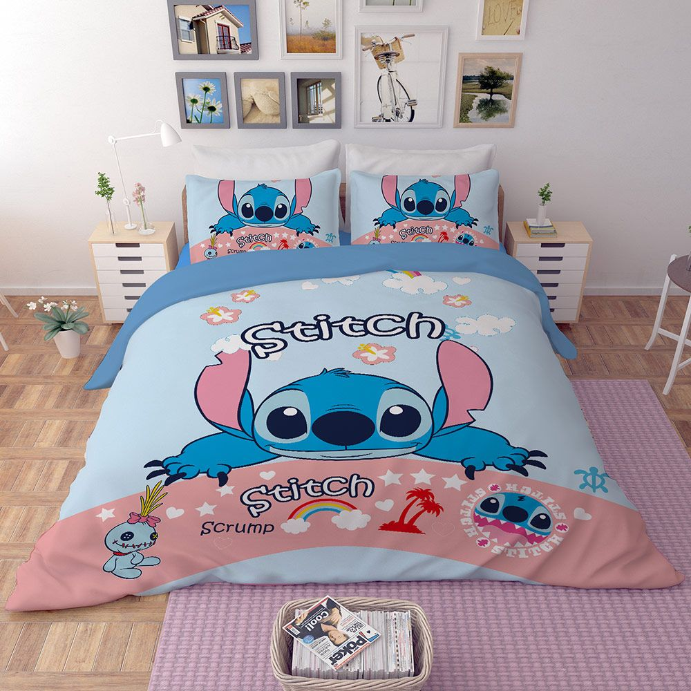 Disney Stitch Bedding Set Disney Decor Bedroom Bedding Set Stitch Disney