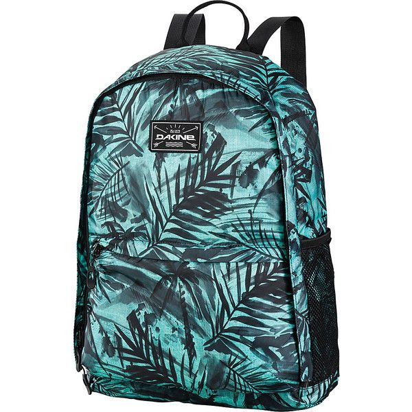 79798bb29f45b Dakine Stashable Backpack 20L Painted Palm Packable Travel Bags