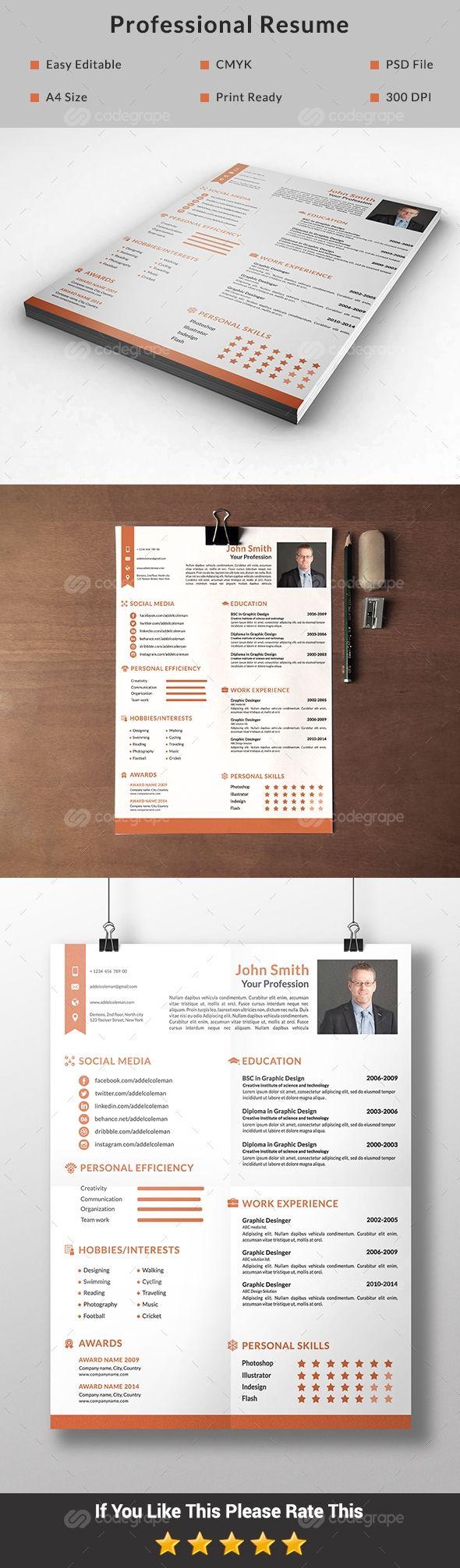 Professional Resume Design Professional Resume Design