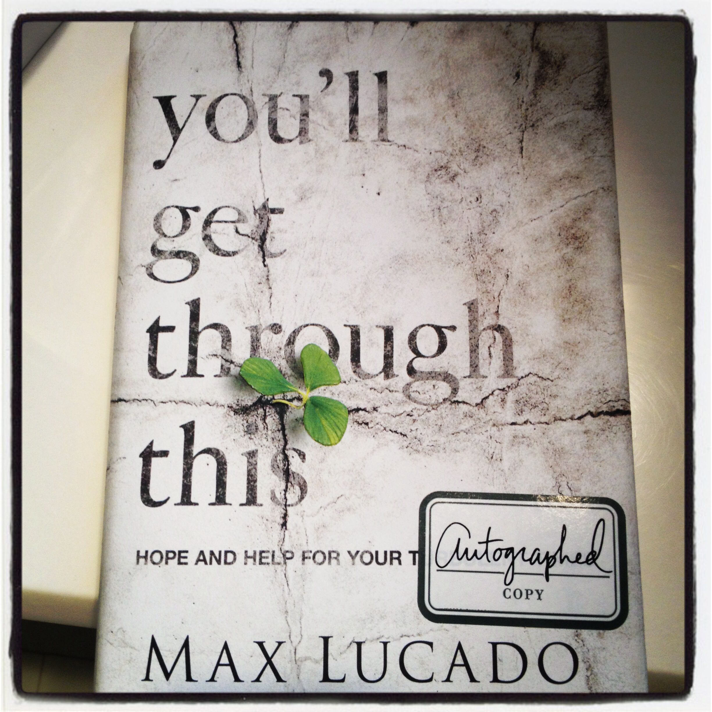 This is a phenomenal book for anyone who needs hope in their lives.