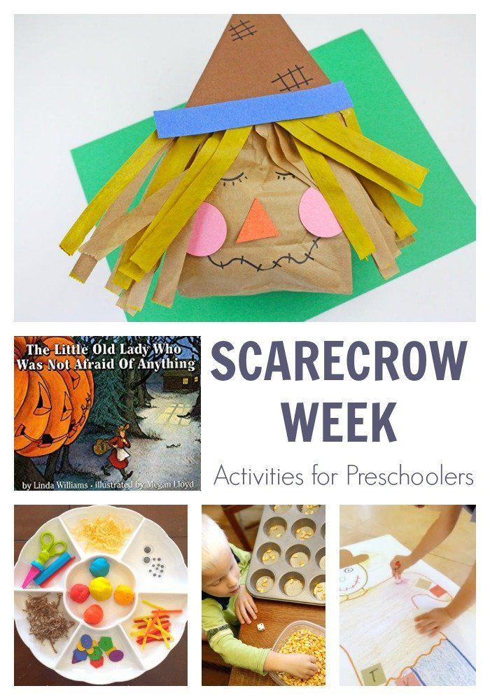 Week of Scarecrow Themed Activities for Preschoolers