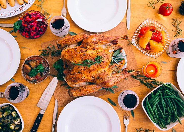 Cook a Thanksgiving dinner.