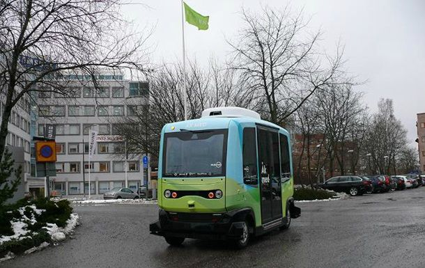 В Стокгольме выехали на рейс беспилотные автобусы (с ...