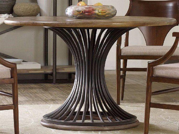 hooker furniture studio 7h scandinavian 48 wide round dining table rh pinterest com