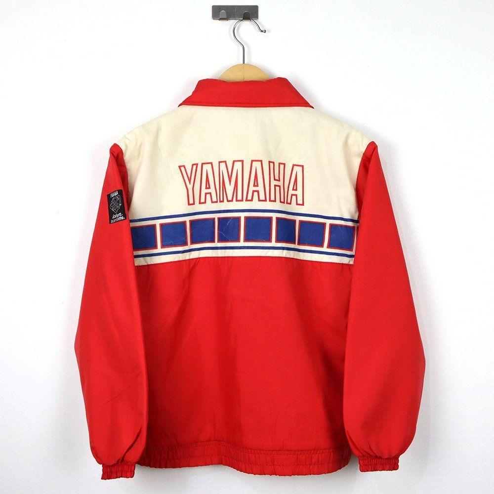 Rare Vintage 70s 80s 90s Team Yamaha Racing Sports Motor Motorcycle Jacket Windbreaker Mid Bomber Retro Racing Jack Streetwear Jackets Team Jackets Team Wear