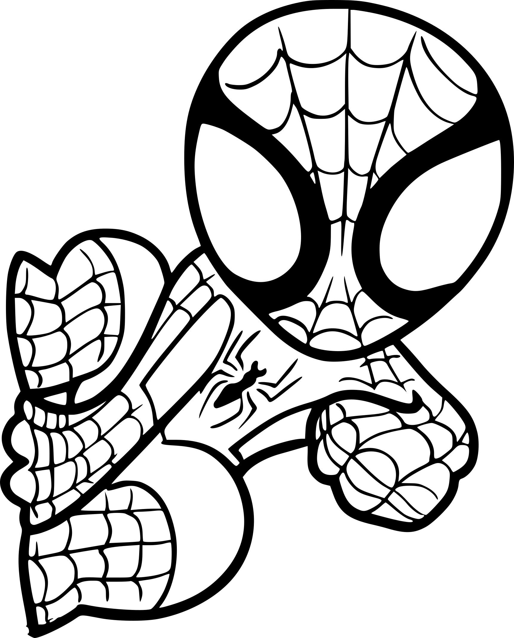 Coloriage Spiderman Facile A Imprimer Sur Coloriages Dedans Dessin Spiderman A Imprimer Gratuit Dessin Spiderman Coloriage Spiderman Coloriage Disney