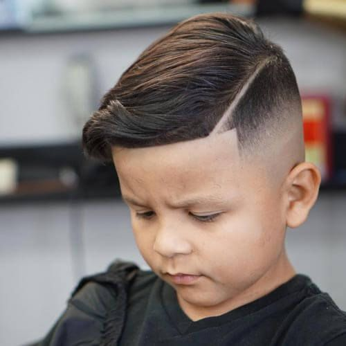 31 Cutest Boys Haircuts For 2018 Fades Pomps Lines More: The Adorable Little Boy Haircuts You & Your Kids Will Love