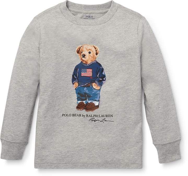 a9ac9826 Ralph Lauren Polo Bear Cotton T-Shirt | Polo Bear in 2019 | Polo ...