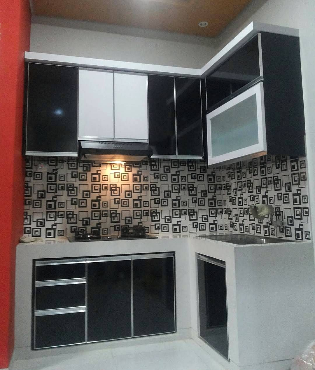 Kitchen Set Murah Sederhana Model Dapur Desain Desain Dapur