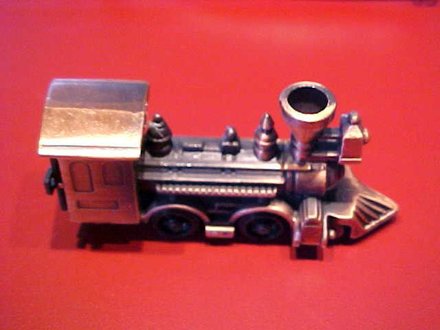Miniature Die-Cast Pencil Sharpener Steam Engine