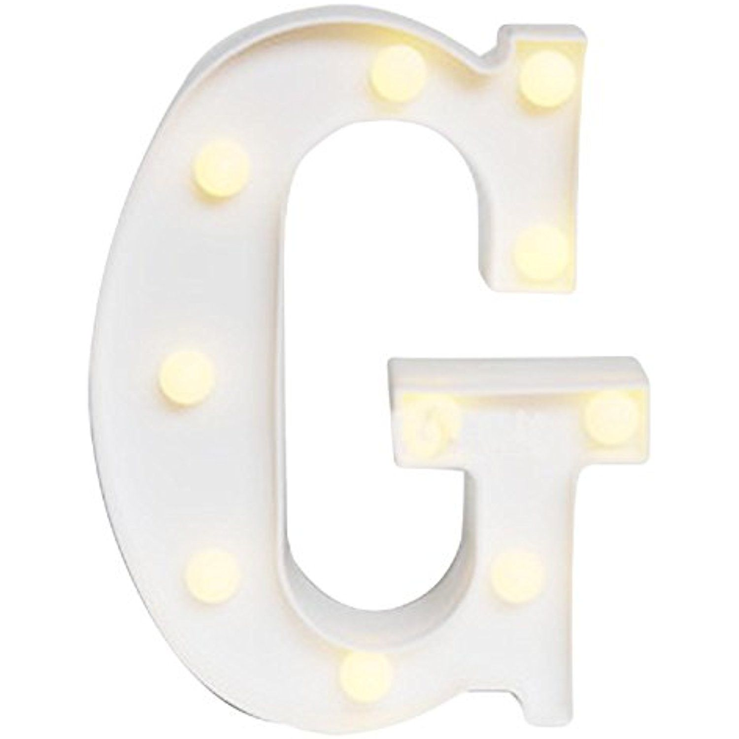 Evokem Decorative DIY LED Letter Lights Led
