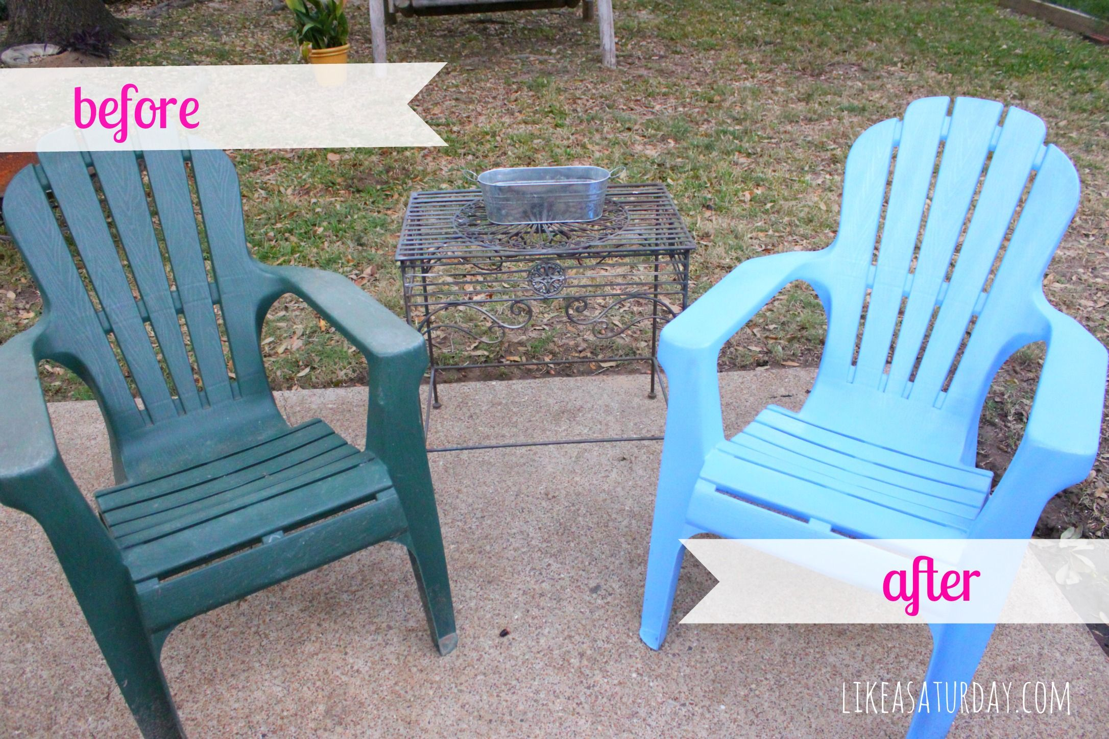 spray paint patio chairs like a saturday best of pinterest rh pinterest co uk